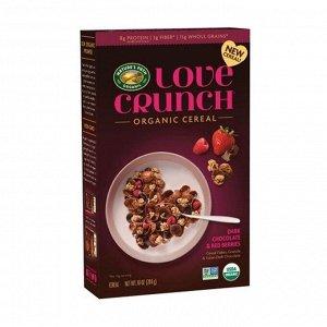 Love Crunch Зерновые хлопья Темный шоколад и красные ягоды 284 гр СРОК ГОДНОСТИ ДО 02.02.2021
