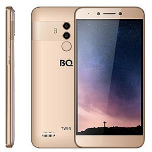 Смартфон BQ 5516L Twin, 4G, 16Gb + 2Gb Gold