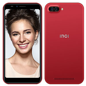 Смартфон INOI 5i, 4G, 8Gb + 1Gb Red
