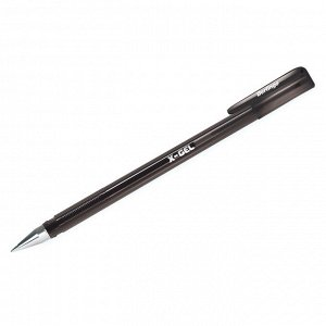 """Ручка гелевая Berlingo """"X-Gel"""" черная, 0,5мм"""