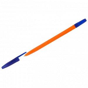 "Ручка шариковая Стамм ""511 Orange"" синяя, 1,0мм"