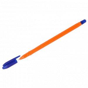"""Ручка шариковая Стамм """"VeGa. Orange"""" синяя, 0,7мм, оранжевый корпус"""