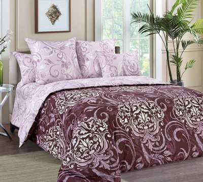 ⭐ Шикарное постельное белье! Ортопедические подушки ⭐  — 2-х спальные комплекты с европростыней — Двуспальные и евро комплекты