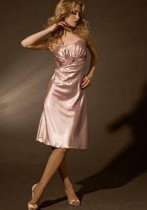 Серебряное коктельное платье Jan Steen, добавила реальные фото