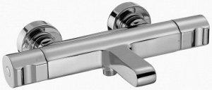Смеситель E10870-CP смеситель SINGULIER ванна/душ настенный термостатический  (хром) Безопасность Максимальная температура 50°С КОЛЛЕКЦИЯ : SINGULIER ВЕС : 4  кг УСТАНОВКА :  Крепление к стене РАСХОД