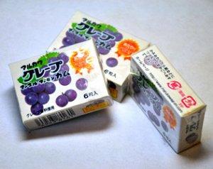 MARUKAWA жевательная резинка , вкус Винограда шары 6 шт. 8 гр.