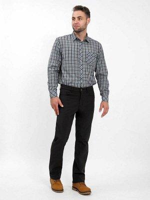 Мужские утепленные брюки (джинсового покроя)