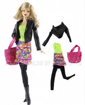 Комплект одежды (куртка+туника+лосины+сумка)