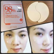 Гидрогелевые патчи для глаз Petitfee Collagen & Q10 Hydrogel Eye Patch, 60шт