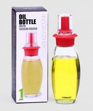 Бутылка для масла с силиконовой кисточкой FH-00776