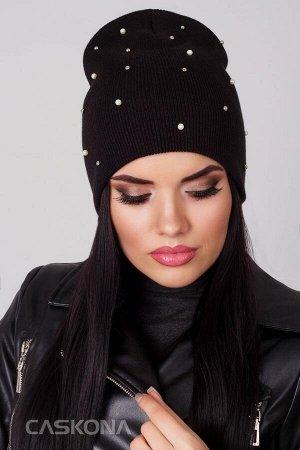 SINDY ЧЕРНЫЙ шапочка женская