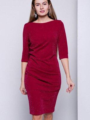 Платье нарядное с люрексом