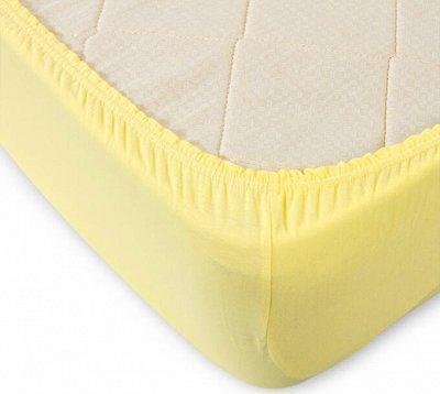 ⭐ Шикарное постельное белье! Ортопедические подушки ⭐  — Трикотажные простыни — Простыни