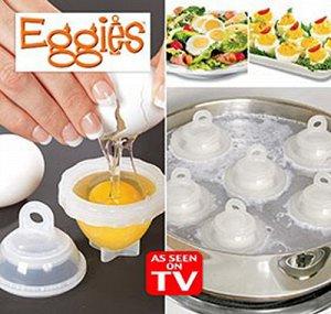 Контейнеры для варки яиц без скорлупы.