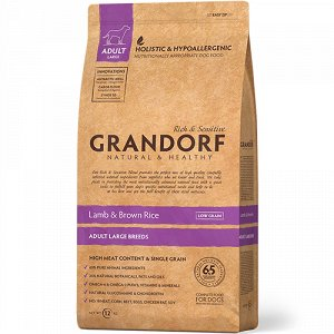Grandorf Lamb&Rice Maxi д/соб круп.пород Ягненок/Рис 12кг