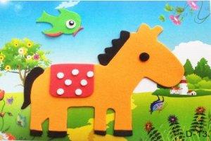 Лошадь Размер 17*12,4 см.