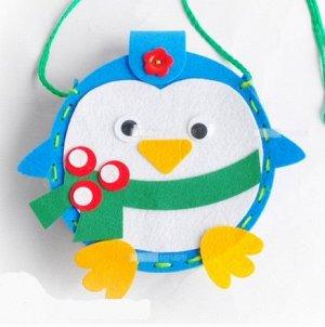 """Набор для создания сумочки """"Пингвин"""""""
