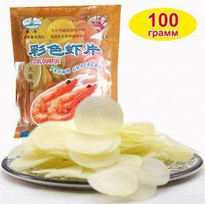 Креветочные воздушные рисовые чипсы