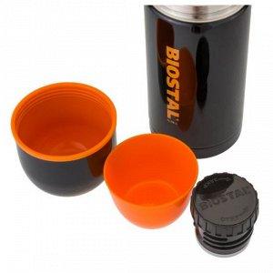 """Термос Biostal """"Спорт"""" NBP-750C 0,75л (узкое горло, черный)"""