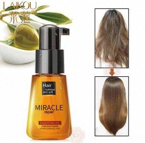 Масло марокканское Аргановое для волос Laikou Miracle Repar 70мл