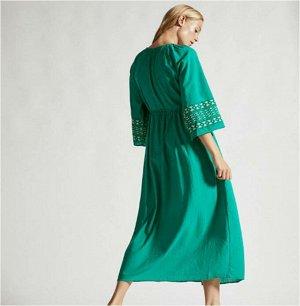 Пляжное платье цвет: ЗЕЛЕНЫЙ