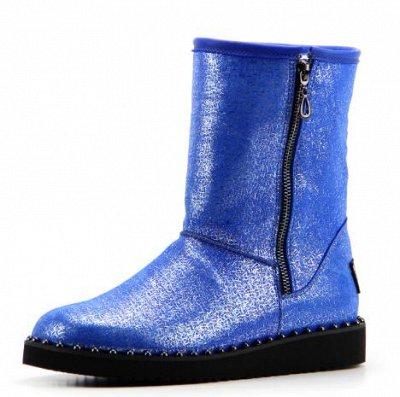 ~ED`ART - Стильная, комфортная обувь. Натуральная кожа. — Угги, унты - зима(шерсть/мех) — Угги