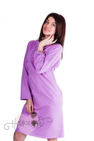 Платье П 697 (сиреневый)