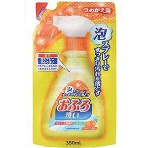 """Чистящая спрей-пена для ванны """"Foam spray Bathing wash"""" (с антибактериальным эффектом и апельсиновым маслом) мягкая упаковка"""