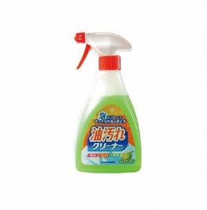 Очищающая спрей-пена для удаления масляных загрязнений на кухне