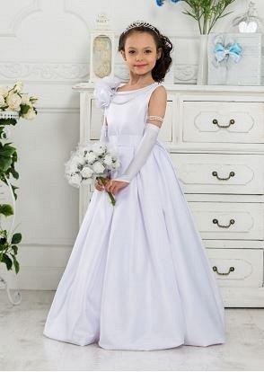 Изысканное парадное платье длиной до пола