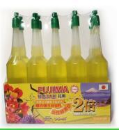 Удобрение-цвет желтый состав: азот, фосфор, калий, магний, биоактивные ферменты, витамины В*С