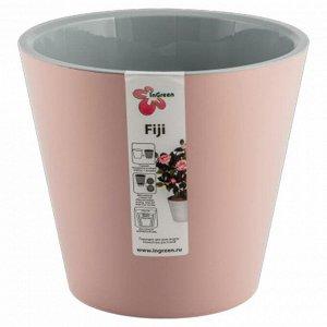 Горшок для цветов Фиджи 330 мм 16 л на колесиках ING1557АР английская роза