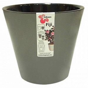 Горшок для цветов Фиджи 160 мм 1,6 л ING1553ПЕП пепельный