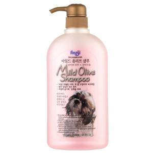 Люксовый оливковый шампунь для чувствительной кожи и шерсти собак и кошек 0,75л