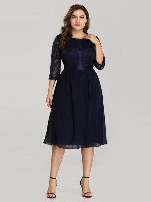 Платье Новое  тёмно-синее р. 44