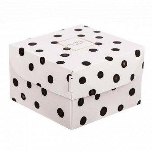 Коробка из картона с принтом 02
