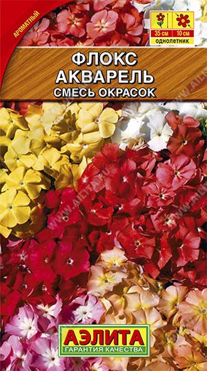 Флокс Акварель, смесь окрасок (2023; 212.12.10)