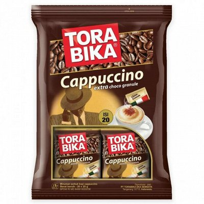 ✔Бакалея ✅ Скидки❗❗❗Огромный выбор❗Выгодные цены🔥 — Капучино Tora Bika Индонезия — Кофе и кофейные напитки