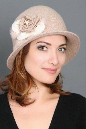 шляпа трикотажная осенняя
