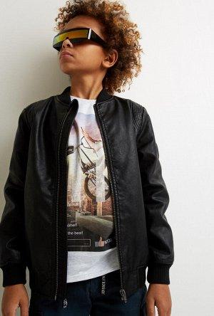 Куртка детская для мальчиков Eminem черный
