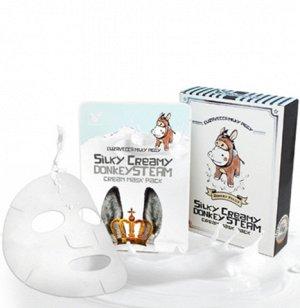 Маска ткан. с паров. крем. ОСЛИНОЕ МОЛОКО Silky Creamy donkey Steam Cream
