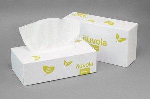 "Салфетки в коробке ""NUVOLA"" Aroma Green Tea 2-х сл. (200 шт.)"