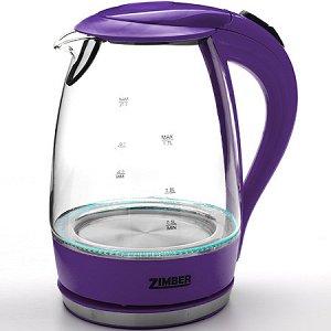 11174 Эл. чайник стекло 1,7л 2200Вт ZM (х6)