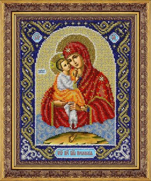 Набор (вышивка бисером) Пр.Богородица Почаевская