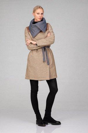 Пальто женское (двустороннее, утепленное)