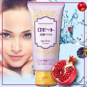 Пенка для умывания для нормальной и жирной кожи с мембраной яичной скорлупы, маслами граната, клюквы и малины. Для зрелой кожи