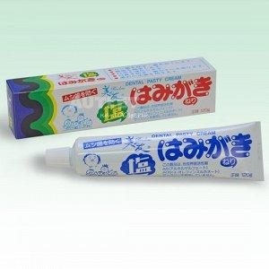 """""""Binotomo salt"""" Зубная паста для защиты от кариеса и зубного камня отбеливающая солёная"""
