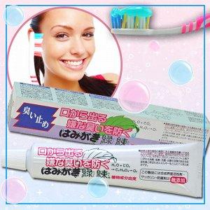 """""""Рэкурэн"""" Зубная паста для защиты от кариеса и зубного камня отбеливающая с растительными экстрактами"""
