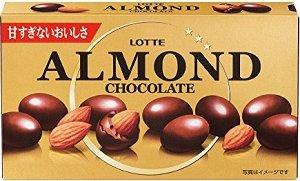 Альмонд LOTTE миндаль в шоколаде, 86 гр СРОК ГОДНОСТИ ДО 28.02.2021