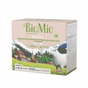 BIO-WHITE Экологичный стиральный порошок для белого белья БЕ
